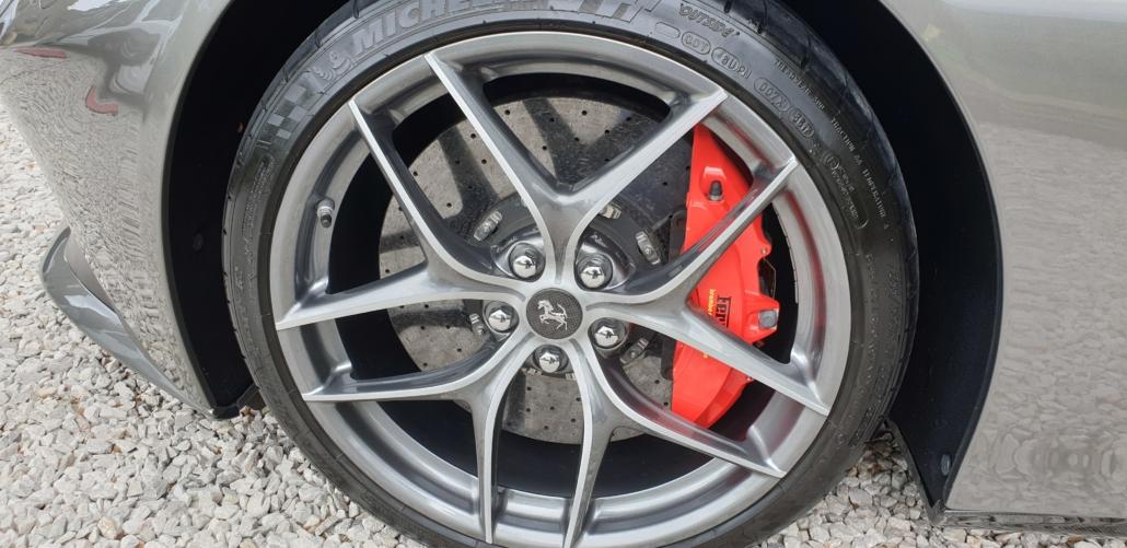Ferrari F12 wheel